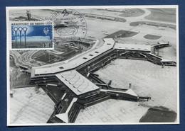 ⭐ France - FDC - Premier Jour - Carte Maximum - Aéroport De Paris Orly - 1971 ⭐ - 1970-79