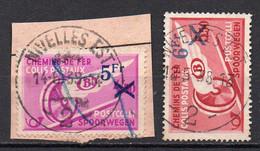 TR 203/204 Gestempeld (moustache) NIVELLES EST 2 - 1923-1941