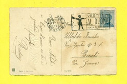 TARGHETTE-STORIA POSTALE-ANNULLI A TARGHETTA- VENEZIA-MILANO-PUBBLICITARIE-AUGURALI-BUON NATALE - Poststempel