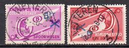 TR 203/204 Gestempeld (moustache) WETTEREN 3 - 1923-1941