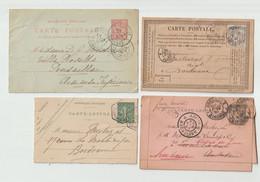 """LOT  """"  ENVELOPPES - CARTE LETTRE - CARTE POSTALE...... -  ENTIERS POSTAUX """" - Lots Et Collections : Entiers Et PAP"""