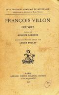 Oeuvres De François Villon (1967) - Unclassified