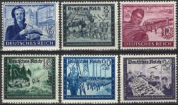 Deutsches Reich 1944. Mi.Nr. 888-893, *, MLH - Ungebraucht