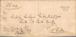 ~1844 OELDE Bfhülle Nach Rheda - [1] Voorlopers