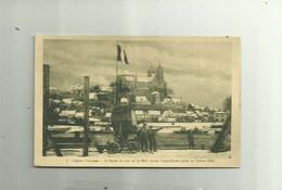 GUERRE 14 -18 - Alsace Francaise La Garde De Nuit Sur Le Rhin Gros Projecteur Animé Bon état - Guerra 1914-18