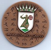 MONACO - Médaille Des Sports - Bronze - Mairie De Monaco - Saison Sportive 2009-2010 - Unclassified