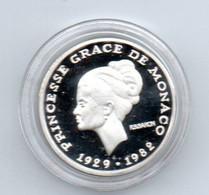 MONACO - Médaille Princesse GRACE De Monaco 1929-1982 - Unclassified