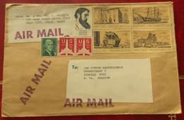 Brief Uit USA - Sobres De Eventos