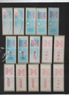 Vignettes De Distributeurs - 1981-84 LS & LSA Prototypen