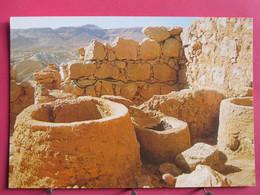 Israël - Masada - Fourneaux Et Silos Dans La Tour Du Mur Ouest, Probablement La Boulangerie - Très Bon état - R/verso - Israele