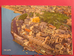 Israël - Old Jaffa - Le Vieux Jaffa - Vue D'avion - Très Bon état - R/verso - Israel