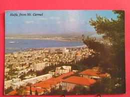 Israël - Haifa - Vue Générale Du Mont Carmel - Jolis Timbres - R/verso - Israele