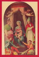 CARTOLINA NV ITALIA - CORTONA (AR) - Madonna Con Santi Di JACONE - Chiesa S. Maria Delle Grazie Al Calcinaio - 10 X 15 - Arezzo