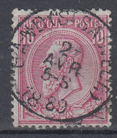 N° 46 OBLITERATION  GAND ST SAUVEUR - 1884-1891 Leopoldo II