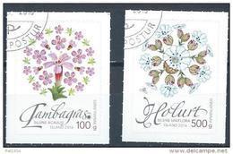 Islande 2016, N°1432/1433 Oblitérés, Fleurs Sauvages - Gebraucht