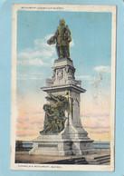 QUEBEC  -  MONUMENT  CHAMPLAIN  - - Québec - La Cité