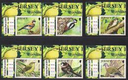 Jersey  2010 Yvertn° 1552-1557  *** MNH Cote 14 € Faune Oiseaux Vogels Birds - Jersey