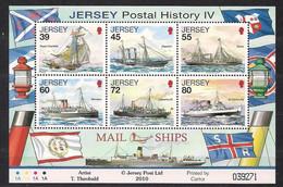 Jersey  2010 Yvertn° Bloc 102  *** MNH Cote 16 € Bateaux Boten Ships - Jersey