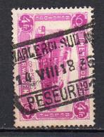 TR 176 Gestempeld CHARLEROI SUD PESEUR N°1 - 1923-1941