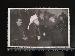 #18 Original Photo -  Vintage Photo Archbishop Of The Macedonian Orthodox Church Dositej Man Church Priest - Unclassified