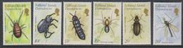 Falkland Islands Dependencies 1982 Insects 6v ** Mnh (51205) - Georgias Del Sur (Islas)