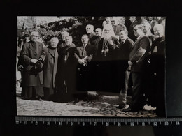 #18 Original Photo - Montenegro  Vintage Photo Archbishop Of The Macedonian Orthodox Church Dositej Man Church Priest - Unclassified