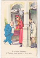 HOLZER  Ed MD N°30   -  Humour Groom Casino -  CPSM  9x14  TBE Neuve - Altre Illustrazioni