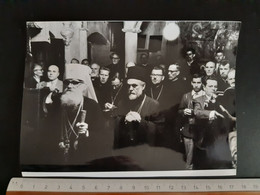 #18 Original Photo - Vintage Photo Archbishop Of The Macedonian Orthodox Church Dositej Man Priest - Unclassified