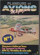 PLANEURS ET AVIONS MAGAZINE N° 1  DECEMBRE 1983 - Aviation
