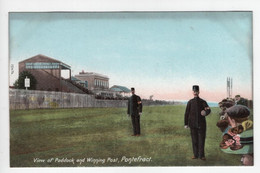 PONTEFRACT - View Of Paddock And Winning Post - Wrench 15474 - Race Course - Police - Other