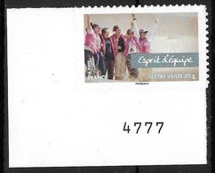 France 2013 Autocollant- Yvert Nr. 807 A - Michel Nr. 5530 II ** - Autoadesivi