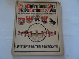 Documentation De 10 Gravures Anciennes 1902 Allemande De Berlin  A Voir  TBE A Part La Couverture Séparé - Prenten & Gravure