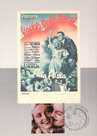 Finland LOT Of FOUR Postal Stationery Card Cinema Film Poster Maximum Card No. 30, 31, 32, 33 Unused (368) - Cinéma