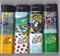 4 Briquets Tour De France Différent - Altri