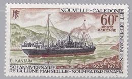 NOUVELLE-CALEDONIE : Yvert PA 141 Ligne Marseille-Nouméa-Panama Cote 10,50 € Neuf XX - Neufs