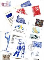 LOT 12 CARTES LA POSTE ..CACHET IMPRIMERIE DES TIMBRES POSTE PERIGUEUX..et Autres  Impeccable - Lots Et Collections : Entiers Et PAP
