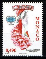"""MONACO 2006 : N° 2564 - """" Joséphine Baker """" - Neuf** - - Neufs"""