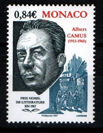 "MONACO 2006 : N° 2568 -  "" Albert Camus "" - Neuf** - - Neufs"
