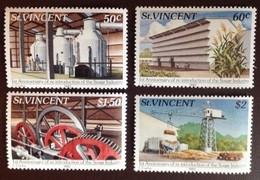St Vincent 1982 Sugar Production MNH - St.Vincent (1979-...)
