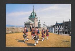 QUÉBEC - ROYAL 22e RÉGIMENT - TAMBOURS DU RÉGIMENT À LA CITADELLE - PHOTO Y.TESSIER - Québec - La Citadelle