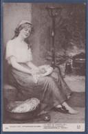 Salon 1910 Paris Le Rêve De Cendrillon, Hortense Richard Carte Postale - Manifestations