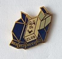 Pin's  Bleu  Alimentation, Association  CLUB  DES  GLYCOPHILES - Associations