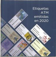 ESPAÑA SPAIN DOCUMENTO CON TODOS LOS ATM EMITIDOS EN 2020 COVID BICICLETA CACERES VILLANUEVA SERENA - 2011-... Neufs