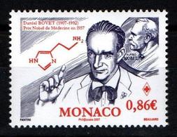 "MONACO 2006 : N° 2572 - "" Croix Rouge - Daniel Bovet "" - Neuf** - - Neufs"