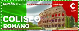España. Spain. 2021. Maravillas Del Mundo Moderno. Coliseo Romano - 2011-... Neufs