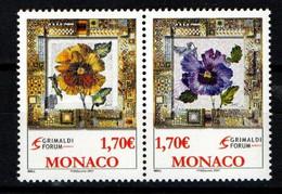 "MONACO 2006 : N° 2575-2576 - Paire  "" ART AU GRIMALDI FORUM "" - Neuf** - - Neufs"