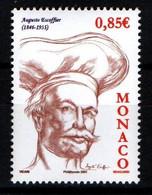 """MONACO 2006 : N° 2579 - """" Auguste Escoffier """" - Neuf** - - Neufs"""