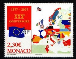 "MONACO 2006 : N° 2581 - "" Académie Européenne De Philatélie "" - Neuf** - - Neufs"