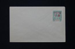 CANTON - Entier Postal ( Enveloppe ) Type Groupe Surchargé, Non Circulé - L 86430 - Briefe U. Dokumente