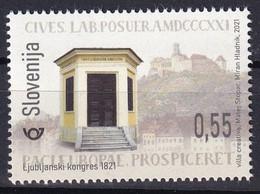 SLOVENIA  2021,NEW 29.01,BICENTENARY OF THE CONGRESS OF LAIBACH,HISTORY,MNH - Slovénie